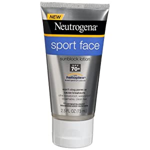 Neutrogena Ultimate Sport Face, SPF 70, 2.5 Ounce