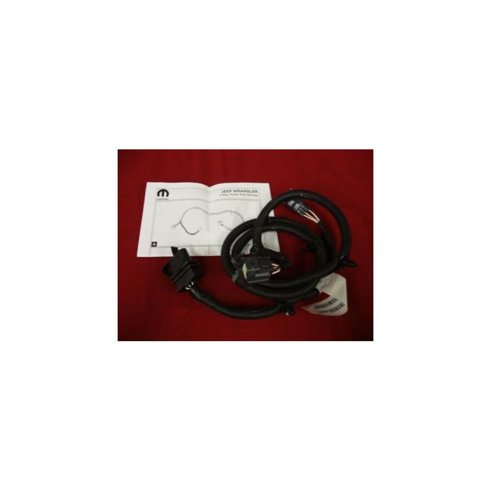 hight resolution of jeep patriot 07 09 4 way trailer wiring connector mopar