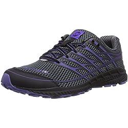 Merrell Women's Mix Master Move Glide 2 Trail Running Shoe,Dark Grey/Light Purple,9 M US