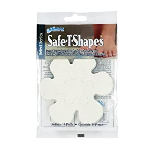 Compac Select Safe T Shapes Bathtub Decals