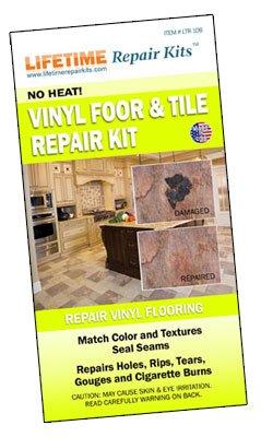 Comparamus  Vinyl Floor  Tile Repair KIT Custom Color