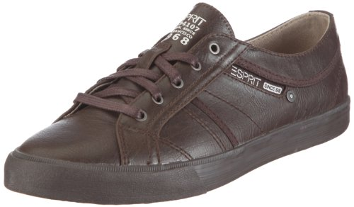 ESPRIT Sophia Lace up U13021, Damen, Sneaker, Braun (medium brown 218), EU 38
