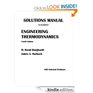 Solutions Manual to Accompany Engineering Thermodynamics