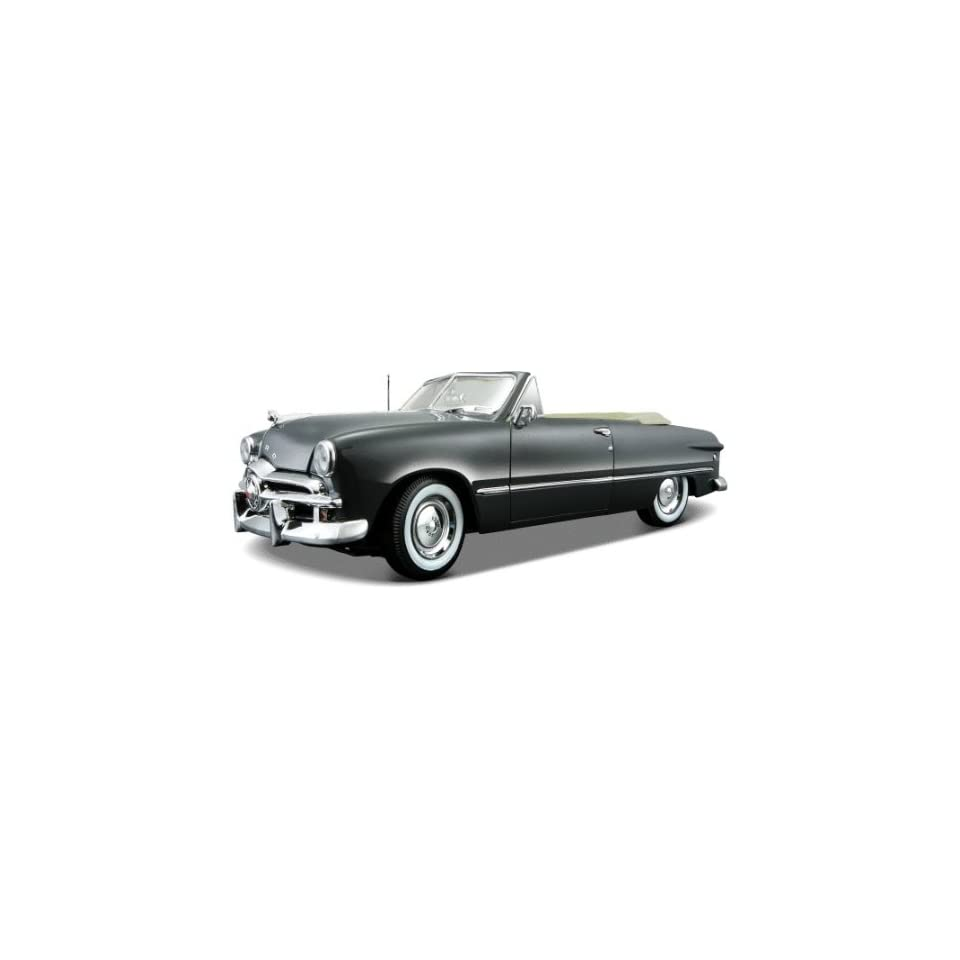 hight resolution of 1949 ford convertible gray diecast car model 118