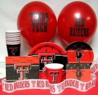 Amazon.com: Texas Tech Red Raiders Party Supplies Pack #3 ...