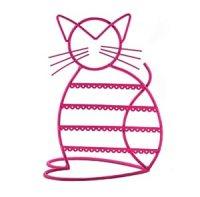 Amazon.com: Cat Shape Metal Wire Earring Holder / Earring