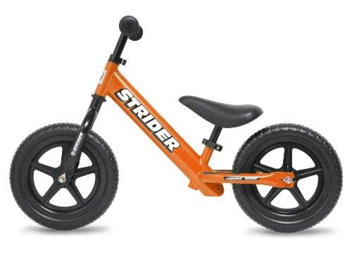 キッズ用ランニングバイク ストライダー(ST-J4)オレンジ (日本正規品)(安心の1年間保証付) -