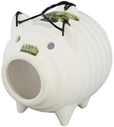 豚の蚊遣り ミニ蚊取り豚 白 夏の定番シリーズ (風物詩) 99-08853