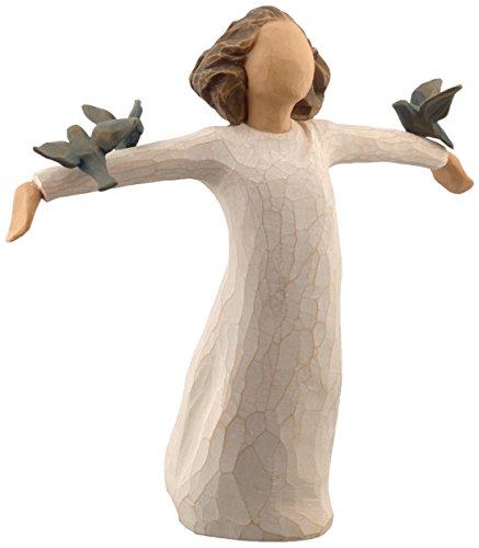 Willow Tree 26130 Figur – Susan Lordi – Zufriedenheit, Glück, Fröhlichkeit