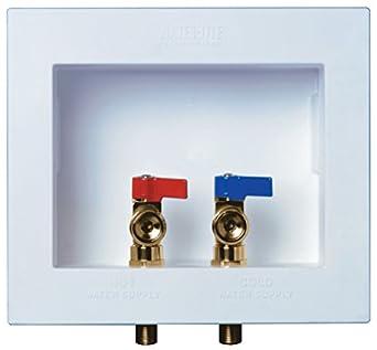 WaterTite DuAll Dual Drain Washing Machine Outlet Box