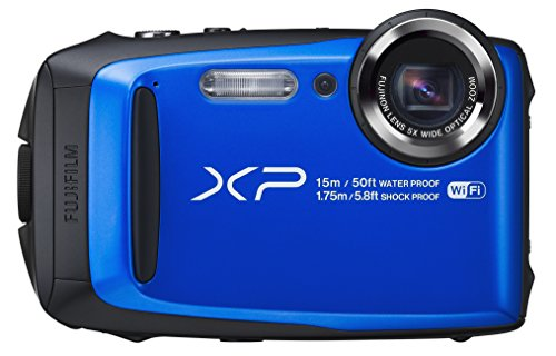 Fujifilm FinePix XP90 Blue Waterproof digital camera (Blue)