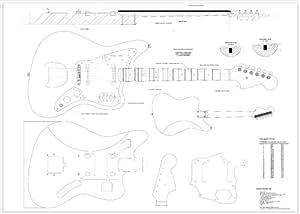 Amazon.com: Full Scale Plans for the Fender Jaguar