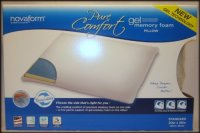 Special Sale Novaform Pure Comfort Gel Memory Foam Pillow ...