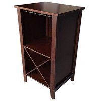Wine Rack End Table - Wine Storage Cabinet Furniture ...