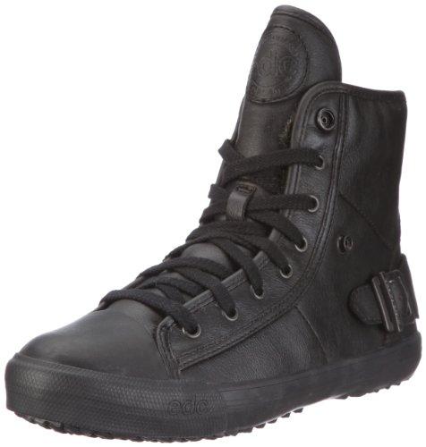 edc by Esprit Belly Lu Bootie X49500, Damen Sneaker, Schwarz (black 001), EU 39