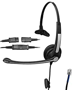 Amazon.com: Voistek Mono Call Center Telephone Headset