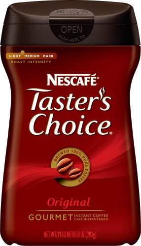 Taster39s Choice Original House Blend Instant Coffee 10