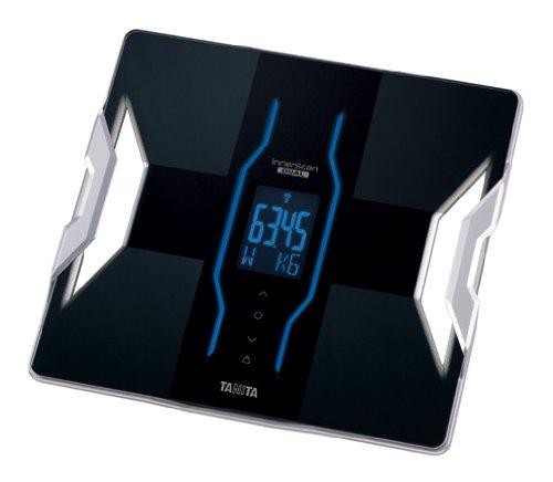 TANITA 【国内メーカー初 BLE搭載でiPhone対応 & 人気のiPhoneアプリとも連携可能】 体組成計 インナースキャンデュアル ブラック RD-900-BK