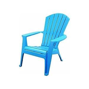 Amazoncom  Adams Mfg Co Blu Adirondack Chair 837021