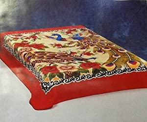 Amazoncom Queen Size Premium Korean Style Mink Blanket