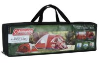 Coleman 4-Person Evanston Tent with Screened Porch Canopy ...