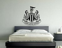 Newcastle United Football Club Badge Emblem Vinyl Wall Art ...