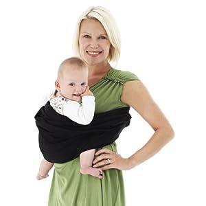 i vital innovations mb baba sling porte bebe noir