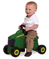 Ertl John Deere Sit 'N Scoot Tractor