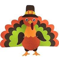Thanksgiving Hanging Turkey Door Decorations ...
