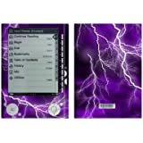 Apocalypse Violet Design Protective Decal Skin Sticker for Sony Digital Reader PRS-505 Models