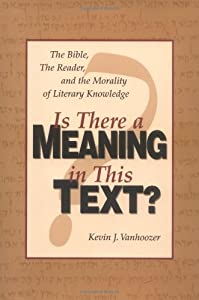 "Cover of ""Is There a Meaning in This Text..."