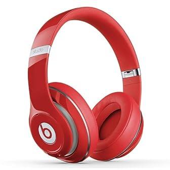 ワイヤレスで最高のサウンドワークをサポート★Beats Studio オーバーイヤーヘッドフォン レッド【海外正規品】