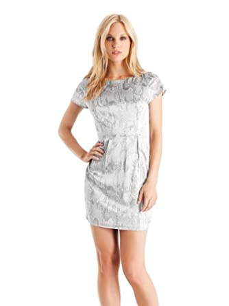 f3d1d79b88 See More Details for GUESS by Marciano Abstract Snake Mini Dress    Click  Here