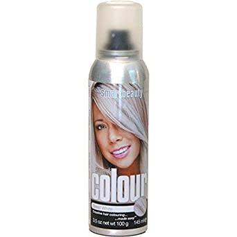 great white temporary hair color spray clothing