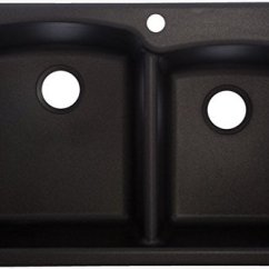 33 X 22 Kitchen Sink Pantry Cabinet How To Offset Double Granite Onyx Abbas