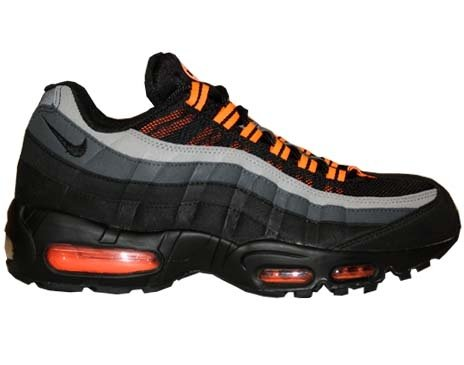 "Buy Nike Air Max 95 ""Halloween Edition"" Mens Running Shoes 609048-054 Black 15 M US"