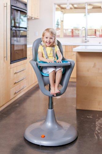 Boon Flair Pedestal High ChairGrayGreen Health Beauty