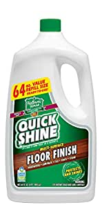 Quick Shine MultiSurface Floor Finish 64Ounce Bottle by