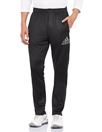 adidas Men's Polyester Track Pants (4055344152812_AP2879_XS_Black)