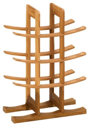 Zeller 13580 Weinregal, Bamboo / 29 x 16 x 42