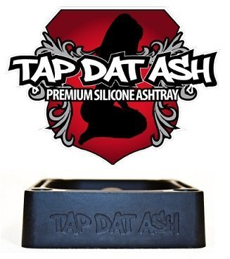 TAP DAT ASH ASHTRAY - Your Glass Pipes BEST Friend - Rubber Ashtray!