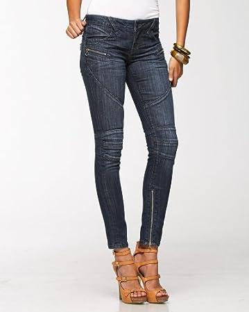 Zipper Moto Skinny Jean