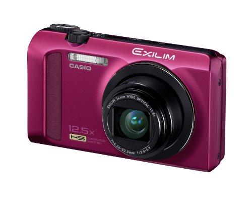 CASIO デジタルカメラ EXILIM EX-ZR200 レッド EX-ZR200RD