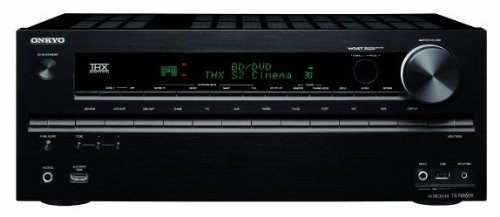 Onkyo TX-NR609 7.2 AV-Receiver (THX, 4K Upscaling, Audio-Streaming, iPhone/iPod über USB) schwarz