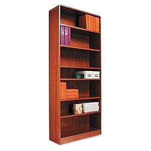 Amazoncom Alera Bcr78436mo Radius Corner Wood Bookcase