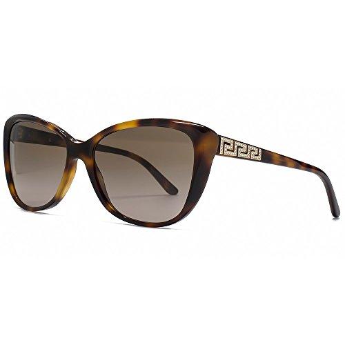 Versace Damen VE 4264B Rock Icons Greca Schmetterling Sonnenbrille