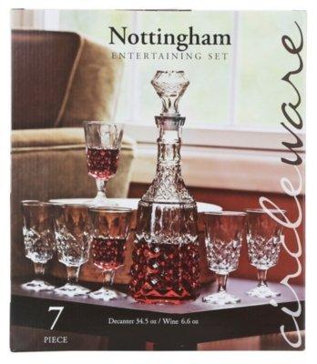 Nottingham 7 Piece Entertaining Set With Decanter
