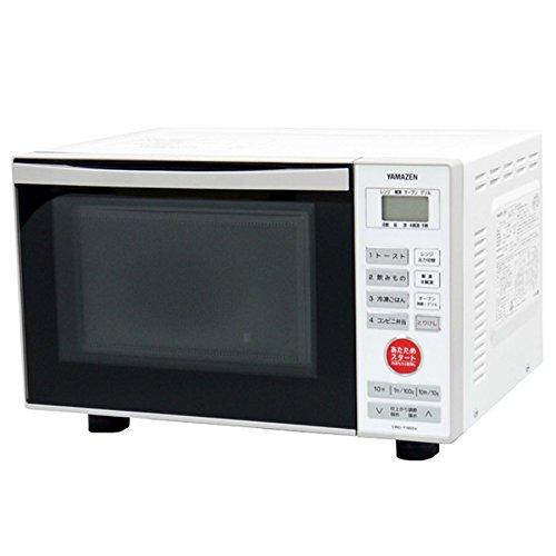 山善(YAMAZEN) オーブンレンジ 15L (縦開き扉タイプ) ホワイト YRD-T150V(W)