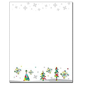 Amazon.com : Prismatic Holiday Christmas Letterhead