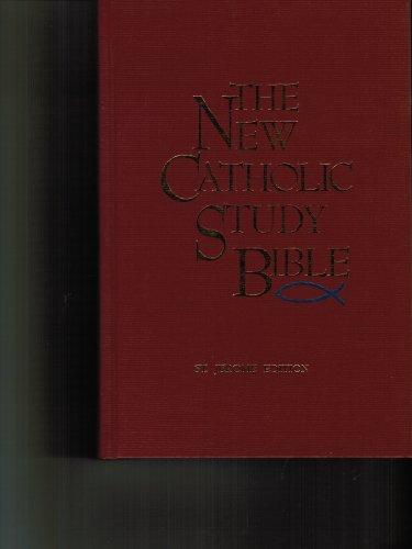 New Catholic Study Bible St. Jerome Edition